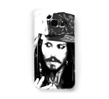 Awesome Johnny Depp - Stencil - Pirates Caribbean - Street art Graffiti Popart Andy warhol Samsung Galaxy Case/Skin