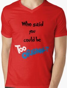 Too Original (Inspired by Major Lazer)  Mens V-Neck T-Shirt