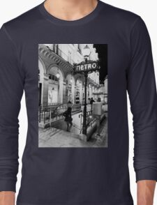 Paris Metro Long Sleeve T-Shirt