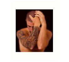 Tattoo 2 Art Print