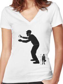 The i - scream Women's Fitted V-Neck T-Shirt