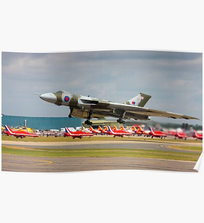 Vulcan taking off Poster