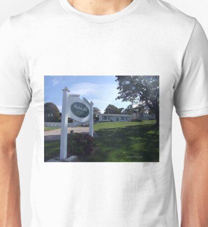 Watch Hill  Court, WH, RI 4 Unisex T-Shirt