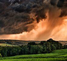 Storm Approaching Sky  by KellyHeaton