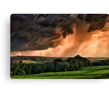 Storm Approaching Sky  Canvas Print