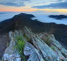 Dawn on the Razors edge  by Donovan wilson