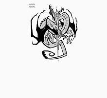 DoubleZodiac - Aquarius Dragon Unisex T-Shirt