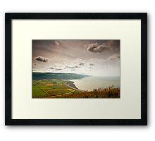 Porlock Bay- Exmoor National Park-UK Framed Print