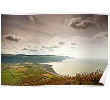 Porlock Bay- Exmoor National Park-UK Poster