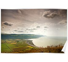 Porlock Bay- Exmoor National Park-UK Poster