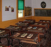 Greenfield Schoolhouse by Pamela Phelps