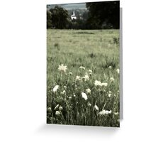 Church in the Valley II Greeting Card