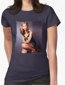 Buffy the Vampire Slayer Womens Fitted T-Shirt