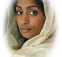 Portrait of a woman by Luigi Petro