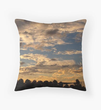 Cloudy Dreams Throw Pillow