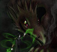 Loki Tames a Dragon by smirkyt