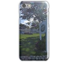 Watch Hill  Court, WH, RI iPhone Case/Skin
