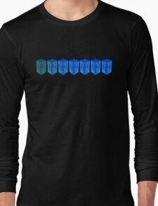 Fading TARDIS Long Sleeve T-Shirt