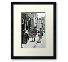 crusin the streets  Framed Print
