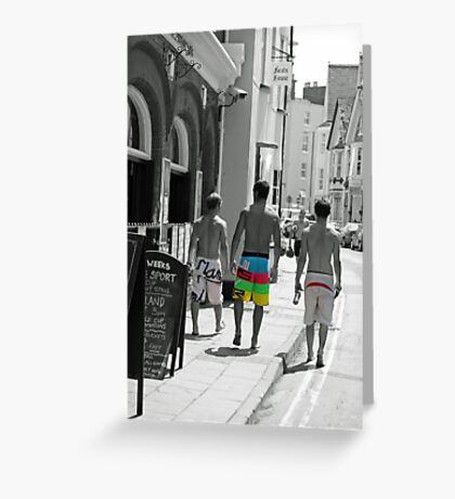 crusin the streets  Greeting Card