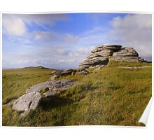 Dartmoor: High Willhays Poster