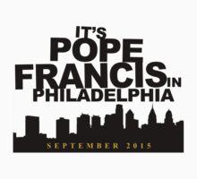 It's Always Pope in Philadelphia Kids Tee