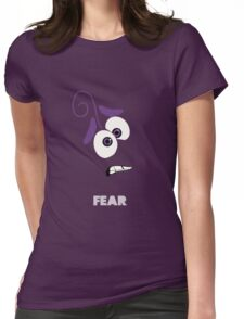 inside Out of Fear Womens Fitted T-Shirt