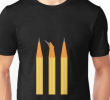 A broken pencil stands out Unisex T-Shirt