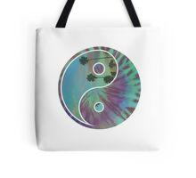 Yin and Yang Ocean Tote Bag
