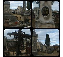 Village Cemetery through the viewfinder Photographic Print