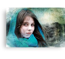 Isabella In The Breeze Canvas Print