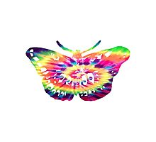 tie dye butterfly tattoo  Photographic Print