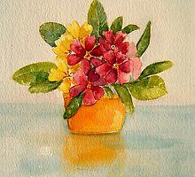 Polyanthus by Shoshonan