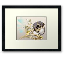 Feathers of Time Framed Print