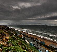 The eye of the storm rolling in from The Needles by Darren Bailey LRPS