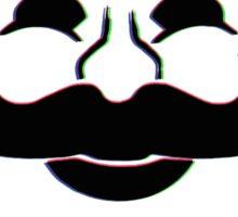 F Society Glitch - Black Sticker