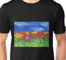 'Little Critters in Gerberas' Unisex T-Shirt