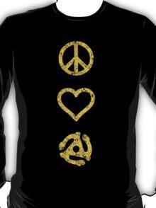 Peace. Love. Vinyl. T-Shirt
