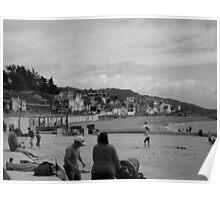 Little beach houses Poster