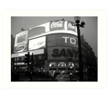 Picadilly Circus - London Art Print
