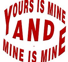 Yours And Mine Is Mine by Vy Solomatenko