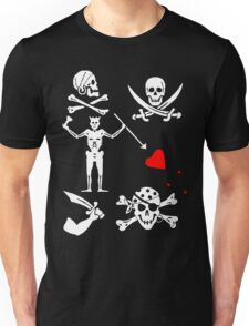 Pirate Flags Unisex T-Shirt