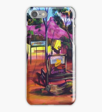 GYMPIE MUSTER - the CROWBAR iPhone Case/Skin