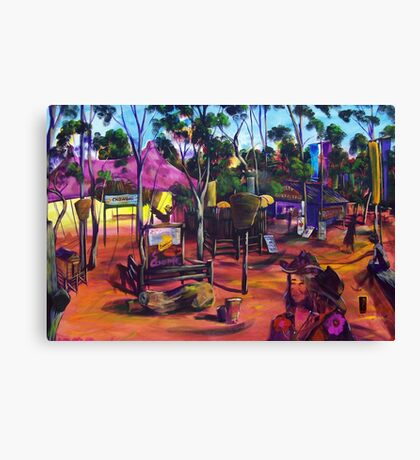 GYMPIE MUSTER - the CROWBAR Canvas Print