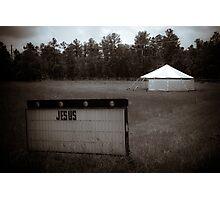 Repent Tent Photographic Print