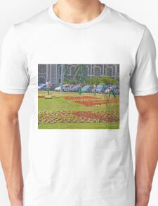 The gardeners, Parliament House, Budapest Unisex T-Shirt