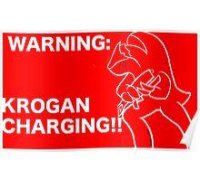 Krogan Charging Poster
