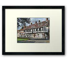 St Williams Collage York Framed Print