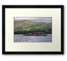 MY Lady of the Lake Framed Print