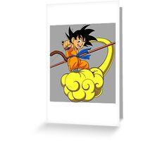 dragon ball z goku kakarot anime manga shirt Greeting Card